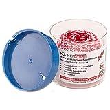 Küchengarn Küchenfaden rot/weiß in Spenderbox mit Abschneider Kordelbox (100 m)
