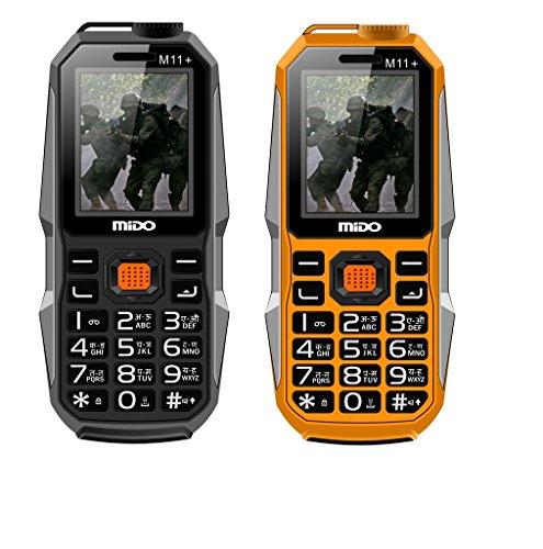 Mido M11+ Basic Phone Combo (Yellow & Black)