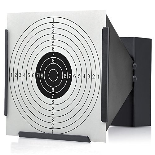14 14cm Zielscheiben Halterung + 100 Ziele Luftgewehr Kugel Falle Schießen Airsoft - Trichter, Funnel
