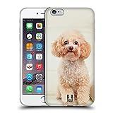 Head Case Designs Barboncino Bianco Seduto Razze Famose di Cani Cover in Morbido Gel Compatibile con iPhone 6 Plus/iPhone 6s Plus