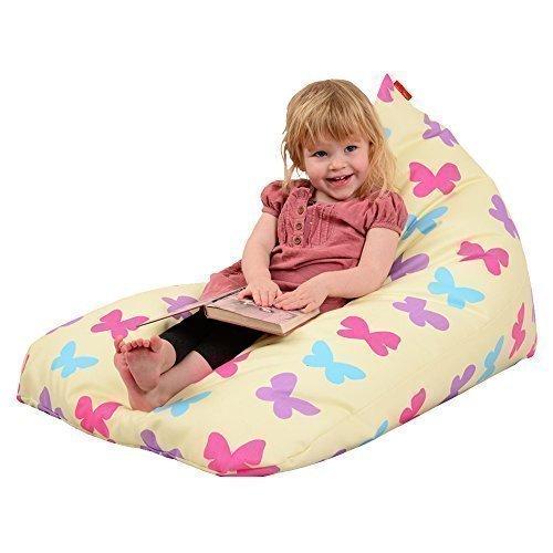 Schmetterling Designer waschmaschinenfestes Kinder Sitzkissen Sitzsack