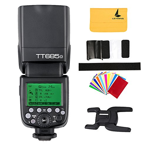 Godox TT685o TTL Flash HSS High Speed 1 / 8000s GN60 Kamerablitz Speedlite Licht für Olympus...