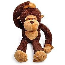 Juguetes gigantes de peluche de mono para niñas y niños