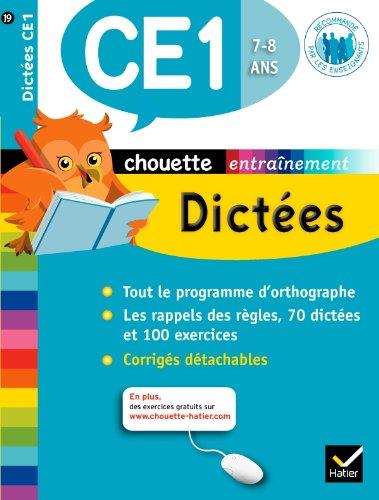 Chouette - Dictées CE1