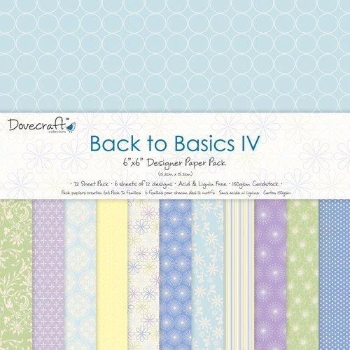dovecraft-back-to-basics-iv-blocco-di-carta-decorata-per-realizzare-biglietti-15-x-15-cm-ca