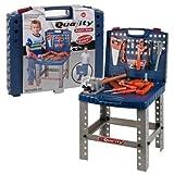 Panorama Gifts Banco de Trabajo portátil para niños con Herramienta eléctrica