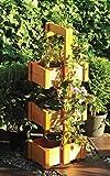 Pflanzturm Hochbeet Blumentreppe Holz 75 x 17,5 x 26,5 cm Holz