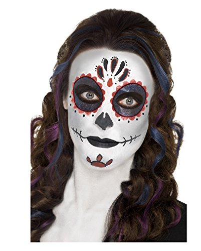 Sugar Skull Schmink-Set (Sugar Up Skull Face Make)