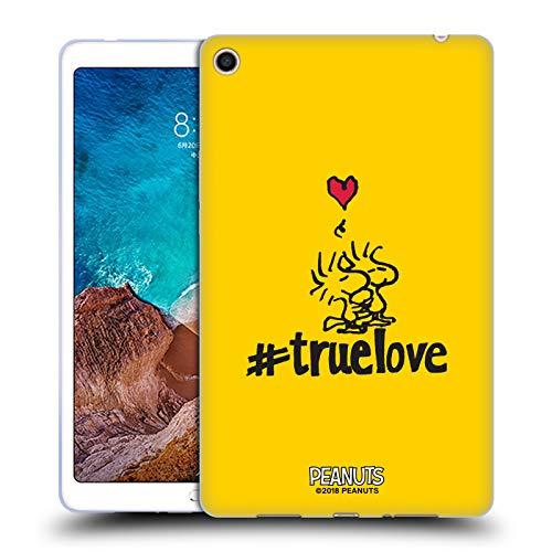 Head Case Designs Offizielle Peanuts Woodstock Wahre Liebe Versiegelt Mit Einem Kuss Soft Gel Hülle für Xiaomi Mi Pad 4 Plus -