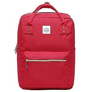 51II1EVDkIL. SS300  - DISA Bolso Mochila   Cabe un MacBook de 15 Pulgadas   37x26x14 cm   Rojo