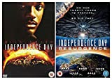 Independence Day 1-2 Complete DVD Collection: Independence Day / Independence Day: Resurgence