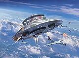 - 51II1podSOL - Revell 03903 12 Modellbausatz Flying Saucer Haunebu Im Maßstab 1:72, Level 4, Länge 20 cm