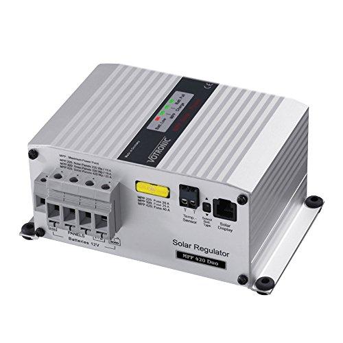 Votronic MPP 480/24 Duo Digital 14A MPPT Solar-Laderegler für zwei Batterien 24V