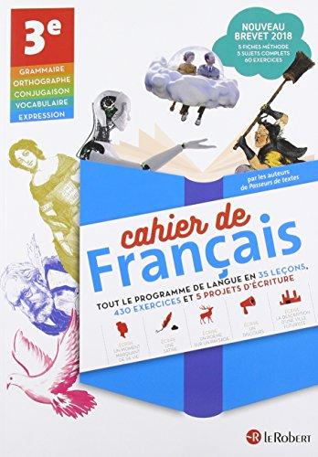 Cahier de français 3e par Collectif