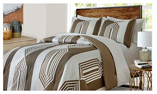 welspun USA Inc softesse Echo Mini Comforter Set 3Stück Queen, voll, Queen, Full