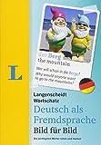 Langenscheidt Wortschatz Deutsch als Fremdsprache Bild für Bild  - Visueller Wortschatz: Die wichtigsten Wörter sehen und merken, Englisch-Deutsch (Langenscheidt Wortschatz Bild für Bild)