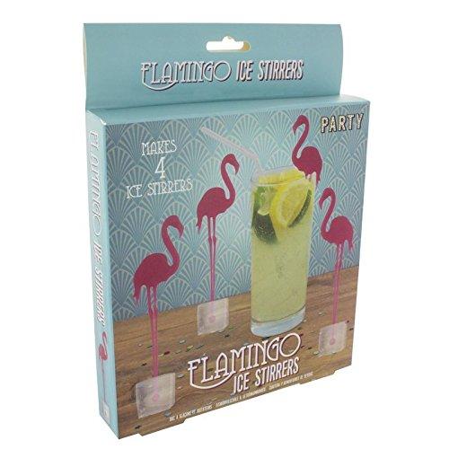 Flamingo Eiswürfelform - Eiswürfelbereiter Eiswürfelformer Party Eiswürfelschale