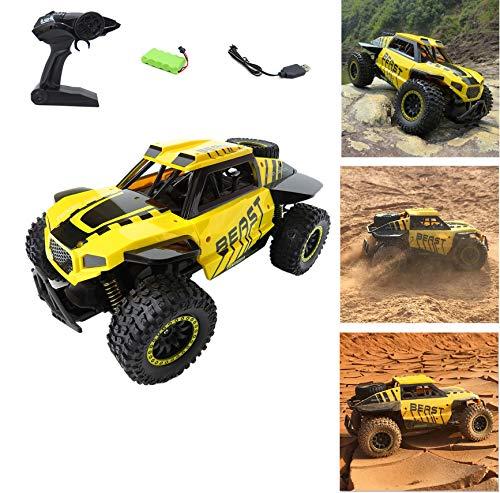 TETAKE Ferngesteuertes Auto, 1:14 RC Auto mit 2,4 GHz Fernbedienung, 2WD 30 km/h High Speed Funkfernsteuerung Elektro Offroad Fahrzeug für Kinder und Erwachsene