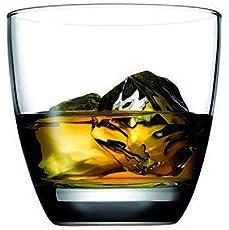 Pasabahce Whisky Glass Set,370 ml,Set of 6