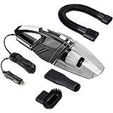 Tflash Auto Aspirateur, Terminal portable voiture auto nettoyant DC12V Wet & Dry Aspirateur avec 5m 120W (16.4ft) Câble d'alimentation et pour lampe de poche