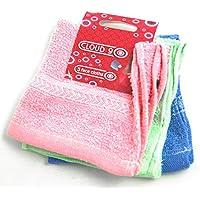 Cloud Nine–3unidades cuadrado suave toalla para la cara manoplas