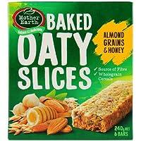 Mother Earth Oaty Slices Almond, Grains & Honey Bars  - 240 g