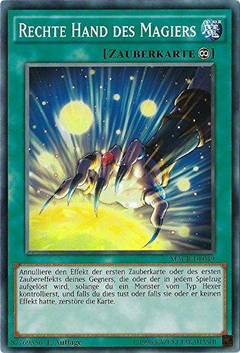 Rechte Hand des Magiers - MACR-DE049 - Yu-Gi-Oh - deutsch - 1. Auflage - NIFAERA Spielwaren