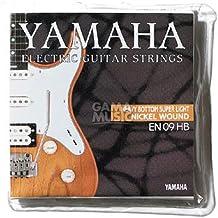Yamaha EN09HB - Juego de cuerdas para guitarra eléctrica
