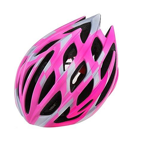 Pecialized Bike Helmet, Casque de vélo de sport réglable Casques de vélo pour vélo de route et de montagne, Moto pour hommes et femmes adultes, Course de jeunes, Protection de sécurité ( Color : Purple )