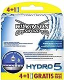 Wilkinson Sword Hydro 5cuchillas de afeitar, 4unidades + 1hoja gratis