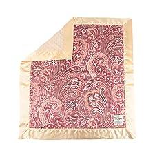 My Blankee Julietta Minky W/Minky Dot Latte Baby Decke, 76,2x 88,9cm