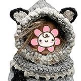 Berretti Inverno maglia Bambini Scialle Cappello autunno e inverno sciarpa  a maglia protezione del bambino con 0e0f68a787c5