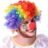 Colorful Hair Dressing Clown Bob Curl Up...