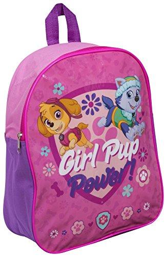 (Kinderrucksack PAW Patrol, mit Aufschrift Girl Pup Power, für Mädchen)