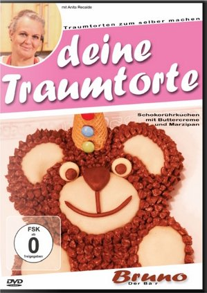 Motivtorten-backen für Einsteiger: *Bruno - Der Bär* - Für alle, die keine begabten Konditoren sind und trotzdem Mal beim nächsten Kindergeburtstag auftrumpfen wollen!