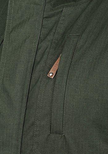 SOLID Bellippo Herren Winterjacke Jacke mit Tunnelzug und Kapuze aus hochwertiger Materialqualität Climb Ivy (3785)