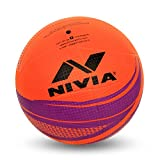Nivia Craters Molded Volleyball (Orange/Purple)