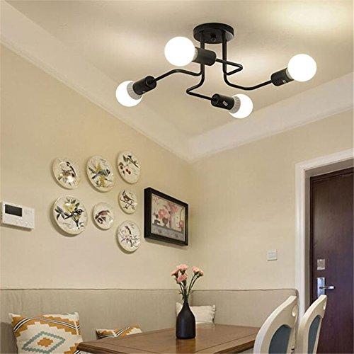 Lámpara de techo moderno, techo colgante con portalámparas