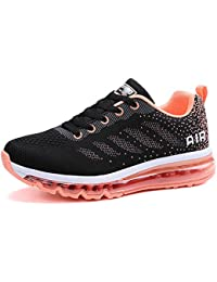 LILY999 Scarpe Donna da Fitness Jogging Sport Running Scarpe da Ginnastica Sportive Mesh Respirabile all'Aperto Basse 3OdKbpWdmG