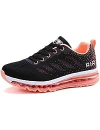 LILY999 Scarpe Donna da Fitness Jogging Sport Running Scarpe da Ginnastica Sportive Mesh Respirabile all'Aperto Basse