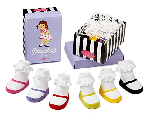 Trumpette Baby-socken (Trumpette Baby-Socken - Jitterbug Jenny Geschenkset in Box)