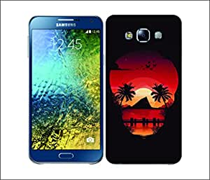 Galaxy Printed 2824 Skullscape Beach Hard Cover for Samsung S3 NEO