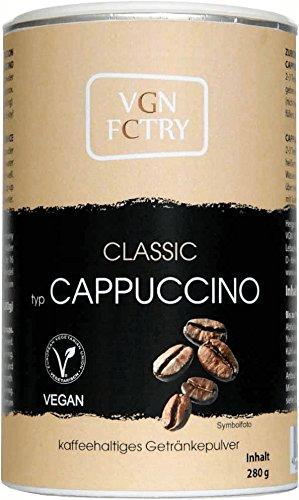 VGN FCTRY - Instant Kaffee - Typ: Cappuccino Classic - 280g - vegan / vegetarisch