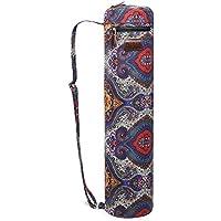 Bolsa de transporte para esterilla de yoga, de Fremous; unisex, con bolsillos de almacenamiento multiusos, portátil, Lotus
