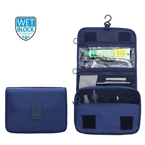 ElifeAcc Trousse De Toilette Pliable Portable 7 Litre Marine
