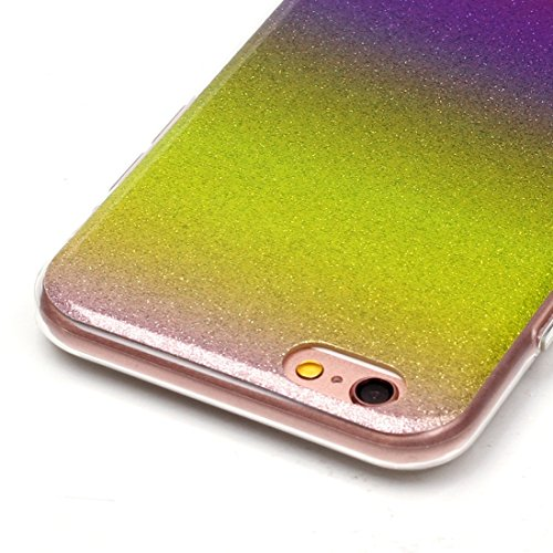 BING Für iPhone 6 / 6s, IMD Color Fades Glitter Powder TPU Schutzhülle BING ( SKU : IP6G8686F ) IP6G8686N
