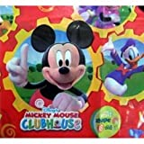 Amscan-Nappe-de-table-rectangulaire-en-plastique-120x180cm-Thme-Mickey-Mouse