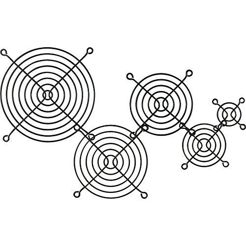 InLine 21572 Griglia per Ventola Metallo 140 x 140 Nero