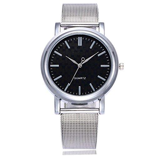 85364f3ef2e3 Reloj de mujer Reloj para hombres Moda Casual Negocio Deporte Cuarzo Banda  de acero inoxidable Mármol