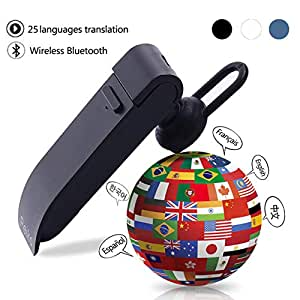 Fidgetgear 25 Languages Translation Headphones Smart Amazon In Electronics
